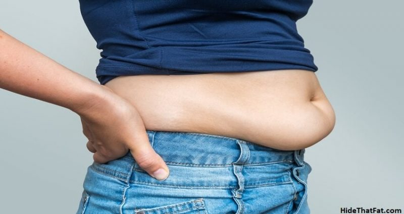 lower belly fat is hard to lose in adults