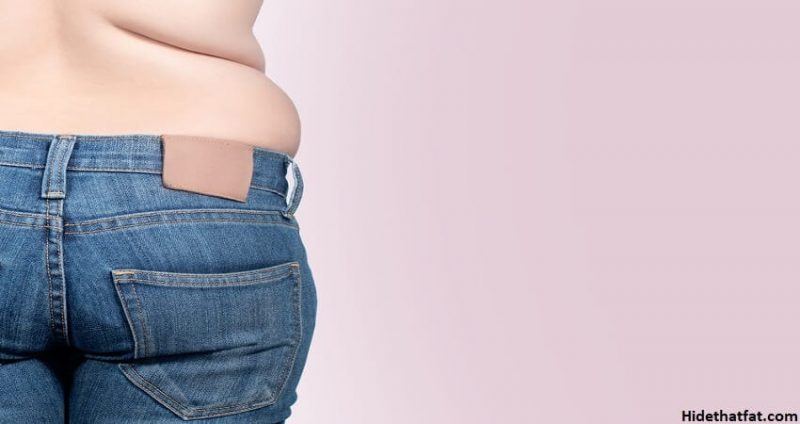 lose lower back fat without exercising