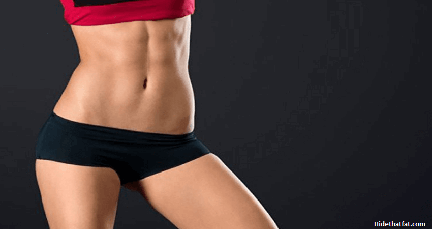 how to lose muffin top female