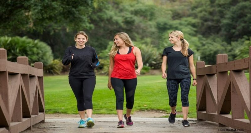 walking help to get rid of belly fat